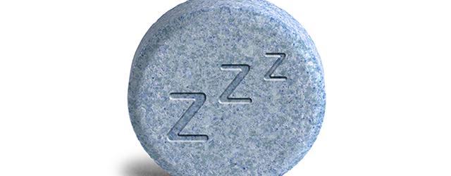 Avoid taking sleeping pills
