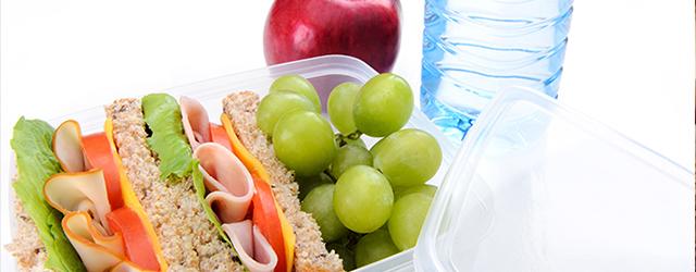 Prepare snacks that aren't too messy!