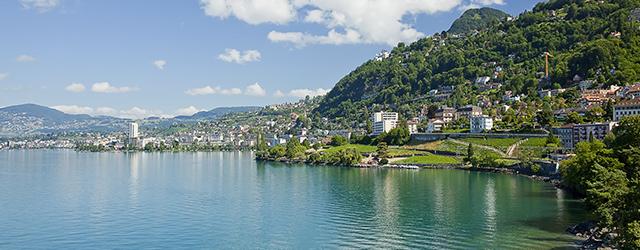 The shores of Lake Geneva