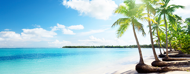 The luxurious Caribbean
