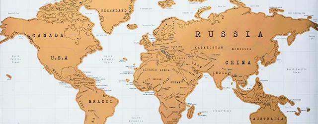 Original world Scratch Map by Luckies