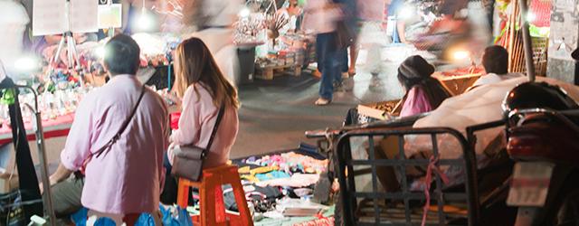 Bangkok's food markets are always bustling