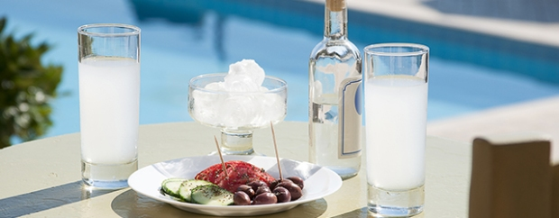 Ouzo - a native Greek liquor