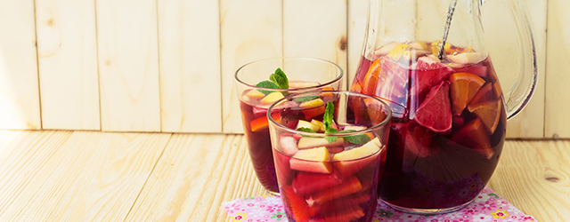 One of Spain's favourite drinks is the Sangria