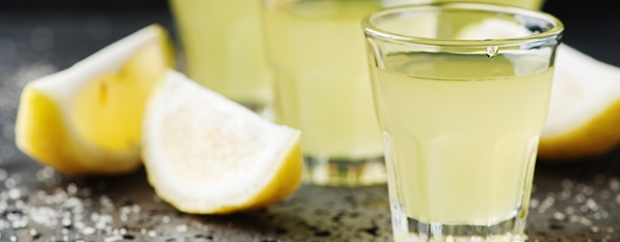 Limoncello is a lemon flavoured drink from Southern Italy