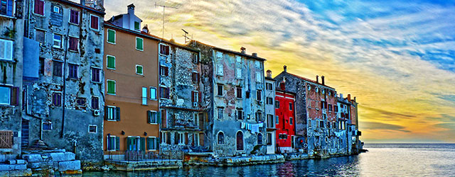 The beautiful town of Rovinj