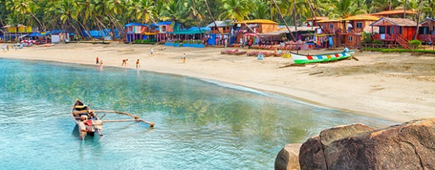 A beach in Goa