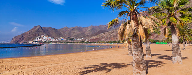 A Canary Islands beach