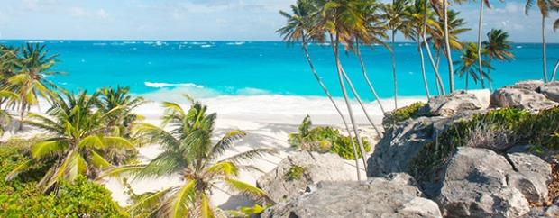 Barbados' Caribbean setting