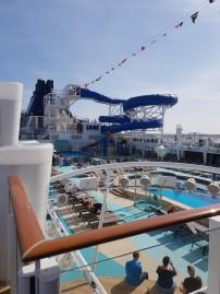 NCL Bliss Pool Deck