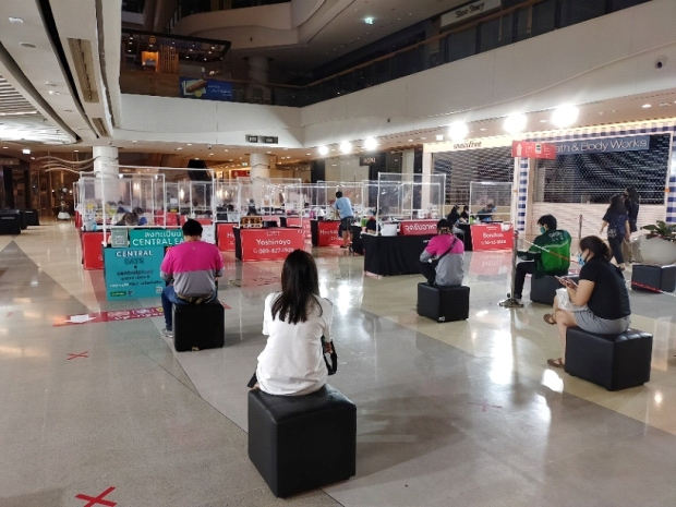 airport-social-distance